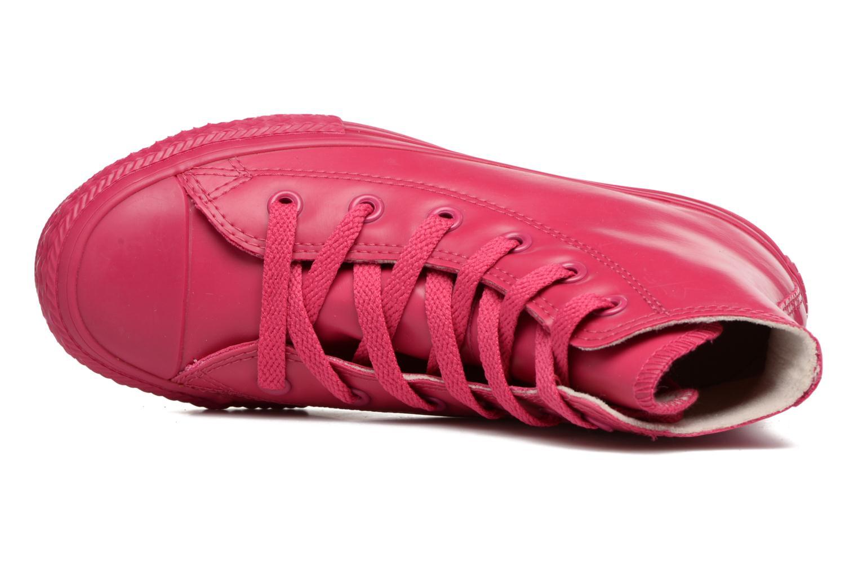 Sneaker Converse Chuck Taylor All Star Rubber Hi K rosa ansicht von links