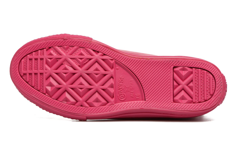 Sneaker Converse Chuck Taylor All Star Rubber Hi K rosa ansicht von oben