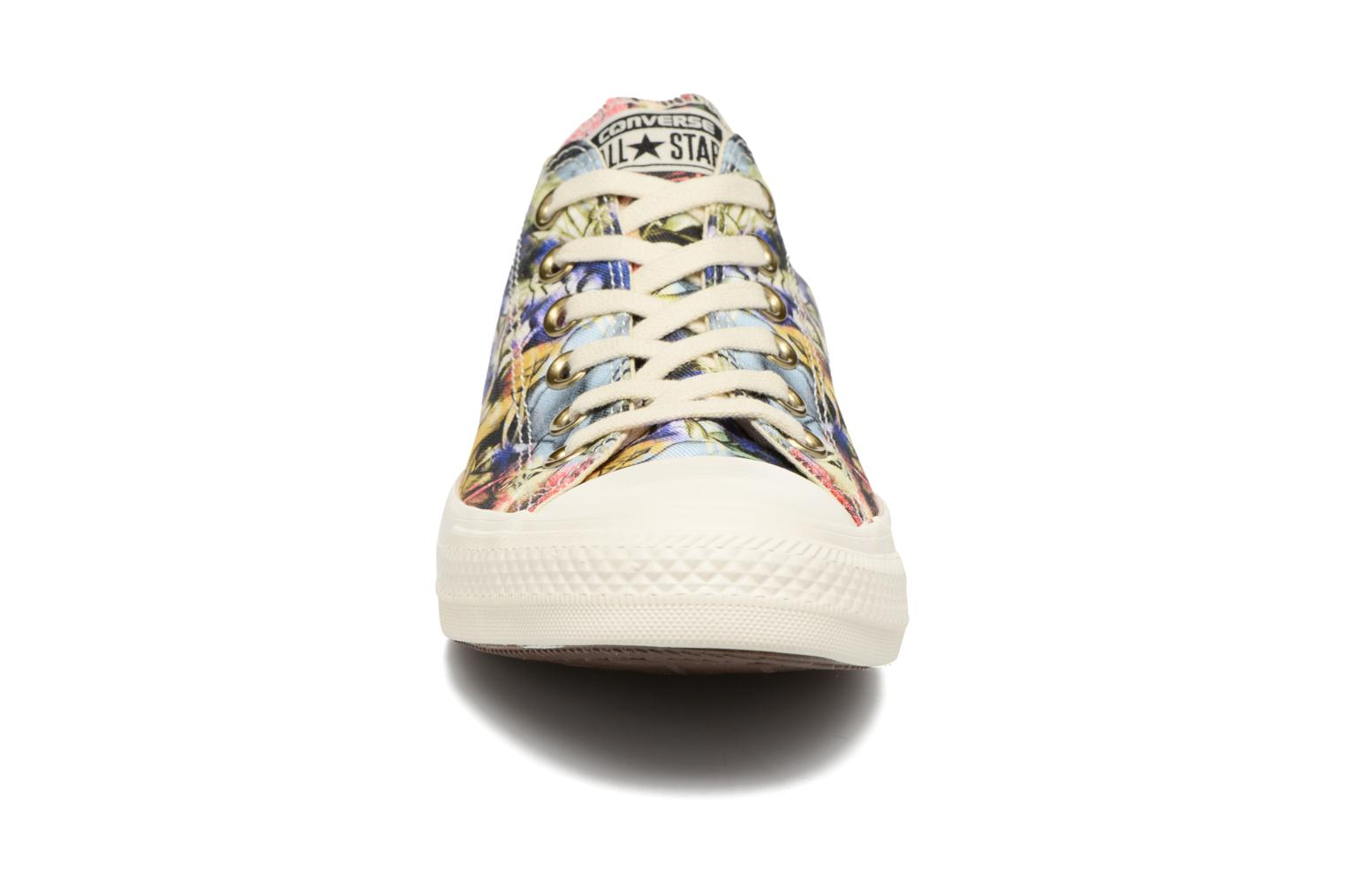 Baskets Converse Chuck Taylor All Star Ox Graphic W Multicolore vue portées chaussures