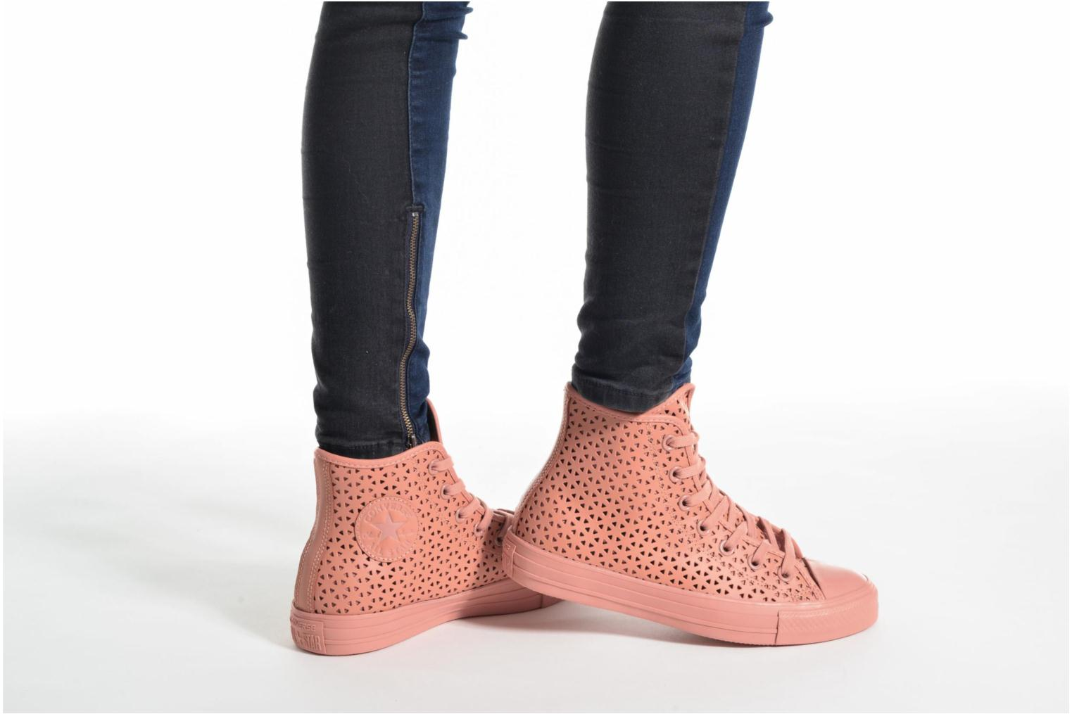 Chuck Taylor All Star Hi Perforated Canvas Pink Blush/Pink Blush/Pink Blush