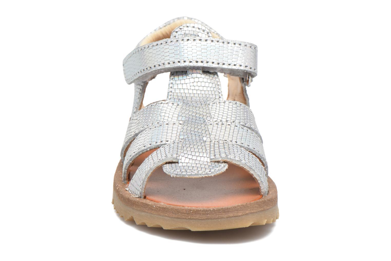 Sandales et nu-pieds GBB Magdalena Argent vue portées chaussures