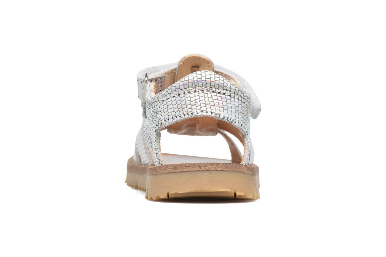 Sandales et nu-pieds GBB Magdalena Argent vue droite