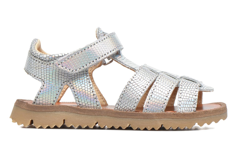 Sandales et nu-pieds GBB Magdalena Argent vue derrière