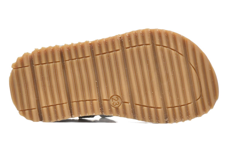 Sandales et nu-pieds GBB Magdalena Argent vue haut