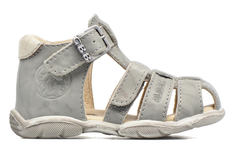 Sandales et nu-pieds GBB Manolo Gris vue derrière