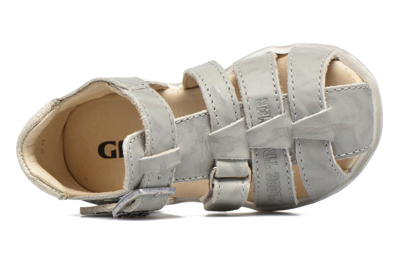 Sandales et nu-pieds GBB Manolo Gris vue gauche