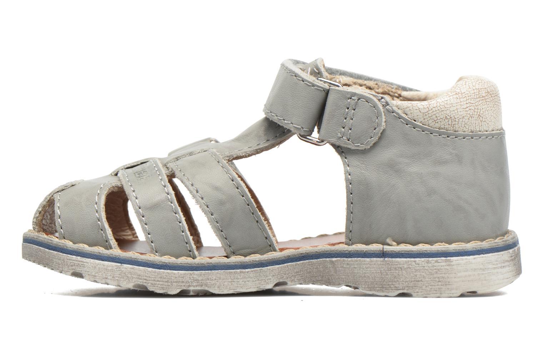 Sandalen GBB Mathurin grau ansicht von vorne