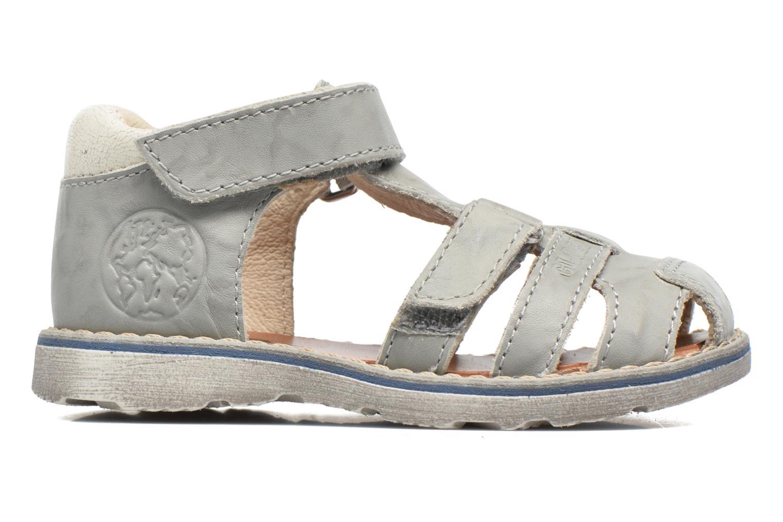 Sandales et nu-pieds GBB Mathurin Gris vue derrière