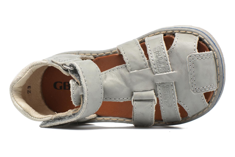Sandalen GBB Mathurin grau ansicht von links