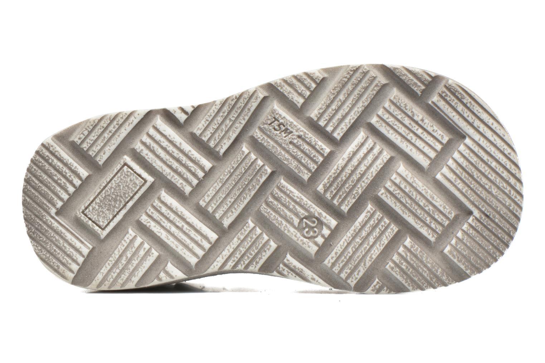 Sandalen GBB Mathurin grau ansicht von oben