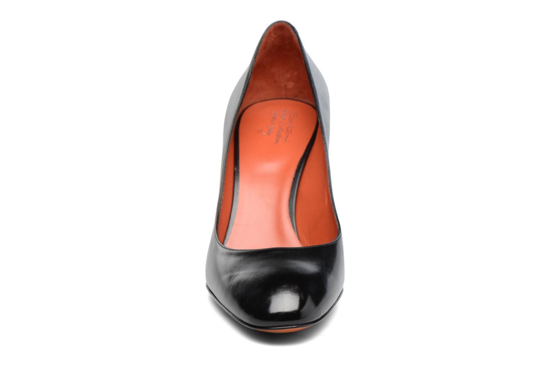 Escarpins Santoni Moss 53254 Noir vue face