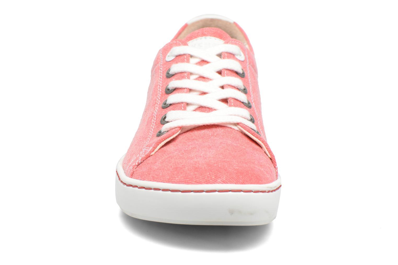 Baskets Birkenstock Arran Rouge vue portées chaussures