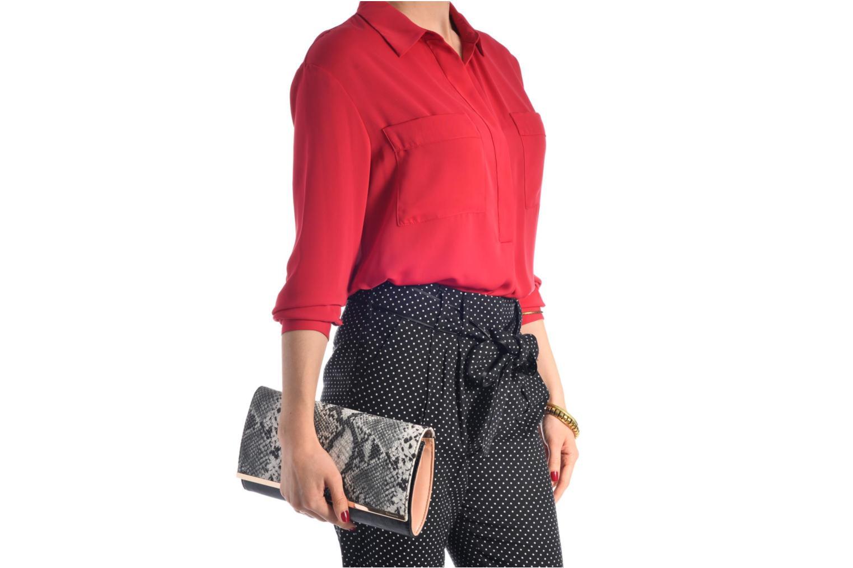 Sacs pochettes Tamaris Gloria Clutch Bag Noir vue haut