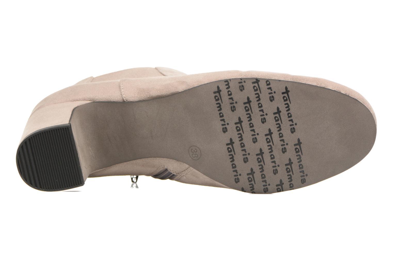 Bottines et boots Tamaris Judith Beige vue haut