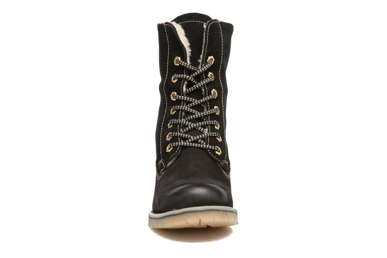 Bottines et boots Tamaris Carla Noir vue portées chaussures
