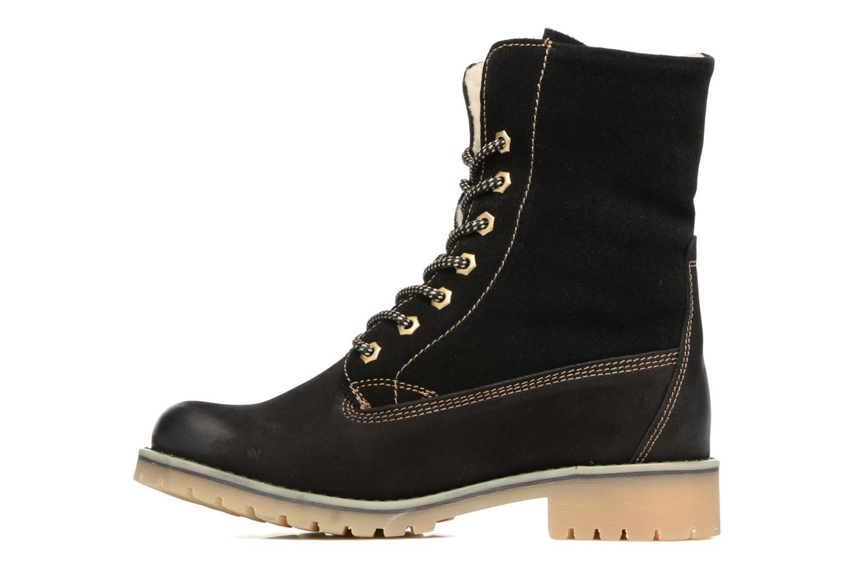 Bottines et boots Tamaris Carla Noir vue face