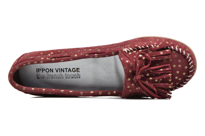 Mocassins Ippon Vintage Moc Star Bordeaux vue gauche