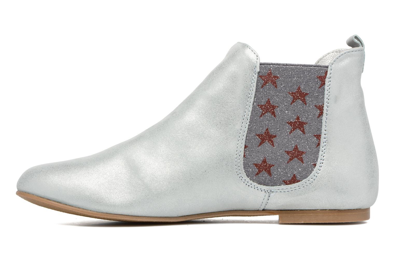 Bottines et boots Ippon Vintage Sun Magic Argent vue face