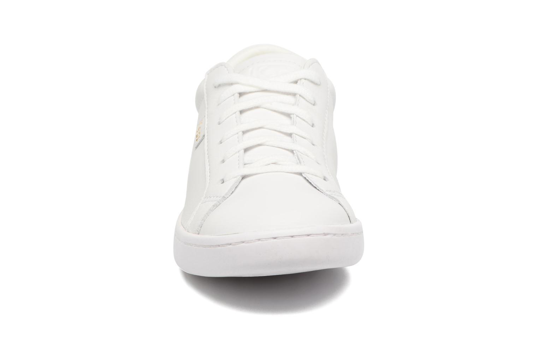 Baskets Keds Ace Leather Blanc vue portées chaussures