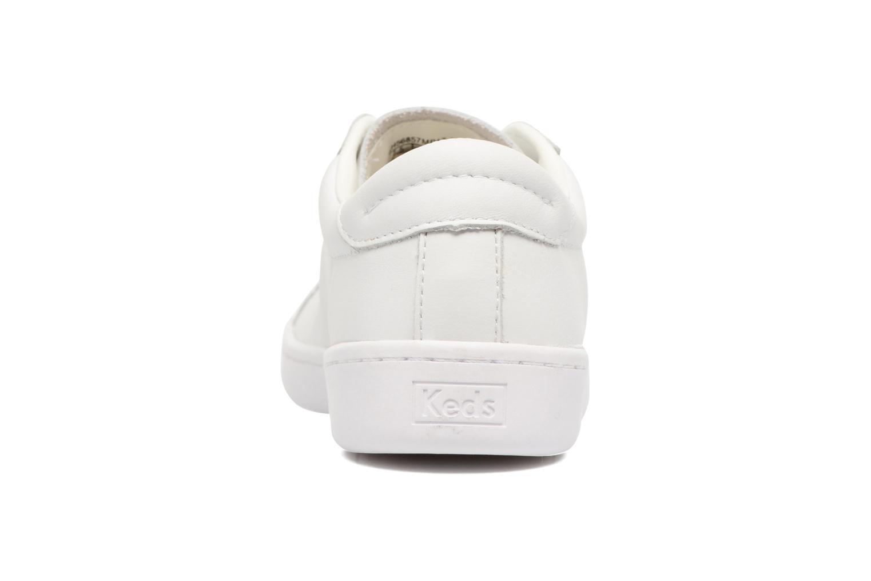 Baskets Keds Ace Leather Blanc vue droite
