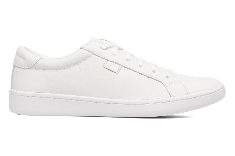 Baskets Keds Ace Leather Blanc vue derrière