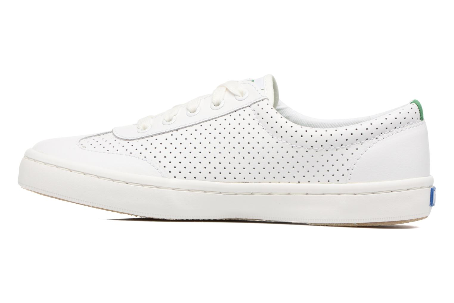 Sneakers Keds Tournament Perf Bianco immagine frontale