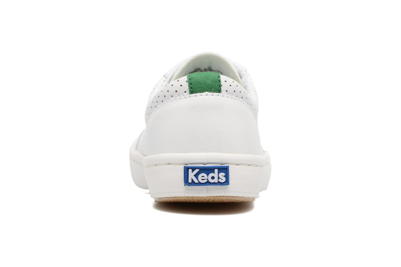 Baskets Keds Tournament Perf Blanc vue droite