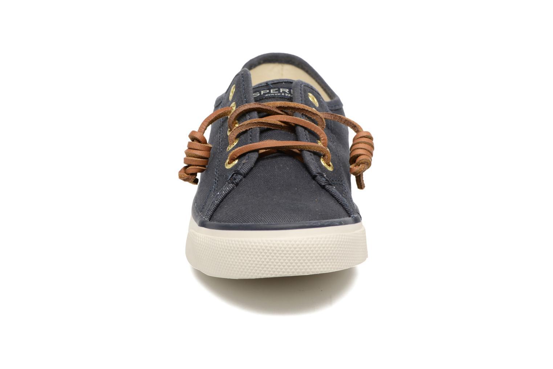 Baskets Sperry Seacoast Bleu vue portées chaussures