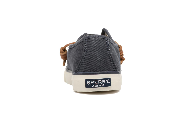 Baskets Sperry Seacoast Bleu vue droite