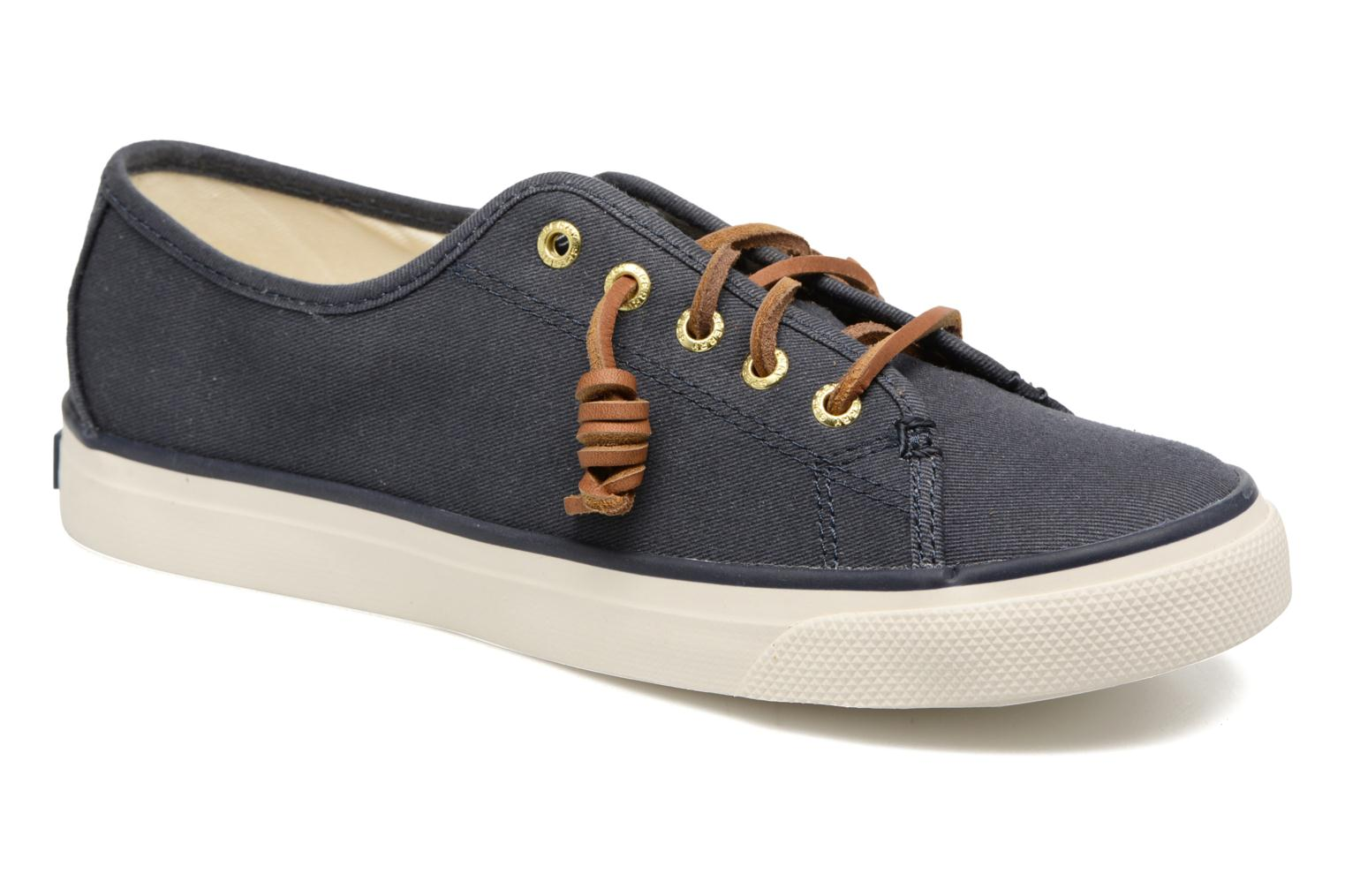 Baskets Sperry Seacoast Bleu vue détail/paire