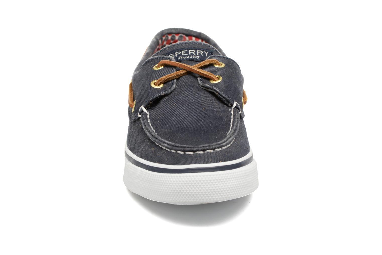 Chaussures à lacets Sperry Bahama CVS 926 Bleu vue portées chaussures