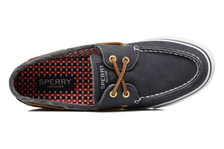 Chaussures à lacets Sperry Bahama CVS 926 Bleu vue gauche