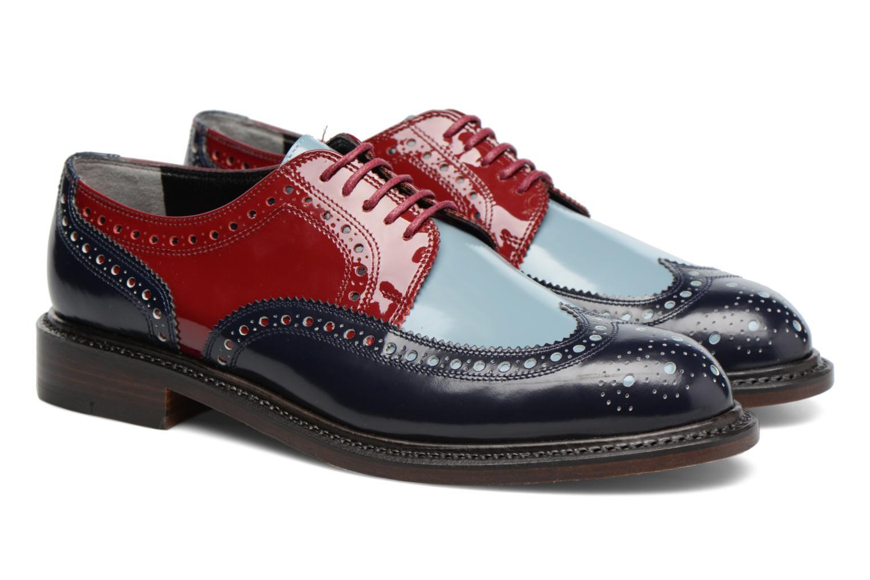 Chaussures à lacets Clergerie ROELN Multicolore vue 3/4
