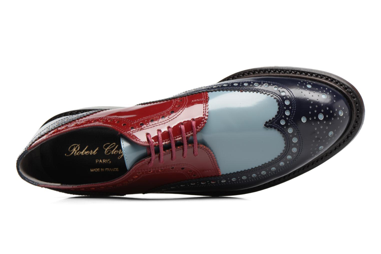 Chaussures à lacets Clergerie ROELN Multicolore vue gauche