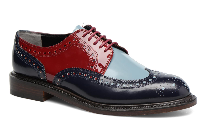 Chaussures à lacets Clergerie ROELN Multicolore vue détail/paire