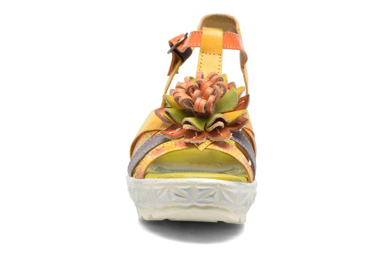 Sandales et nu-pieds Laura Vita Siecle Orange vue portées chaussures