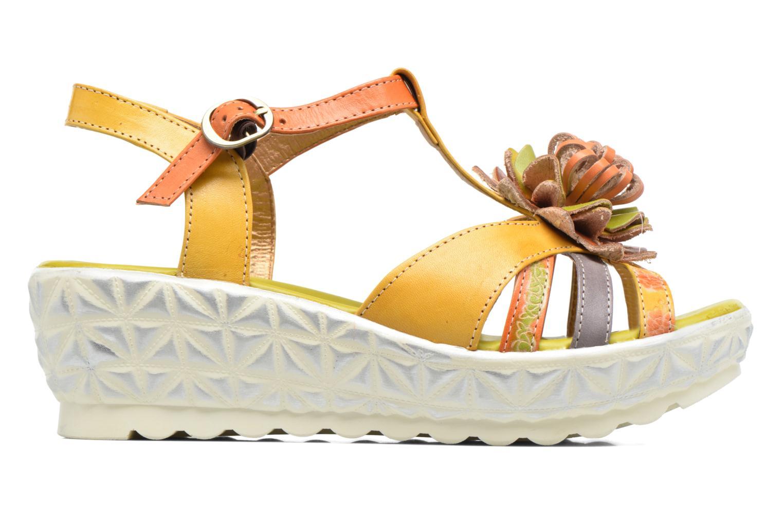 Sandales et nu-pieds Laura Vita Siecle Orange vue derrière