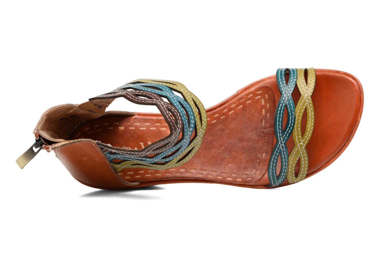 Sandales et nu-pieds Laura Vita Venise Marron vue gauche