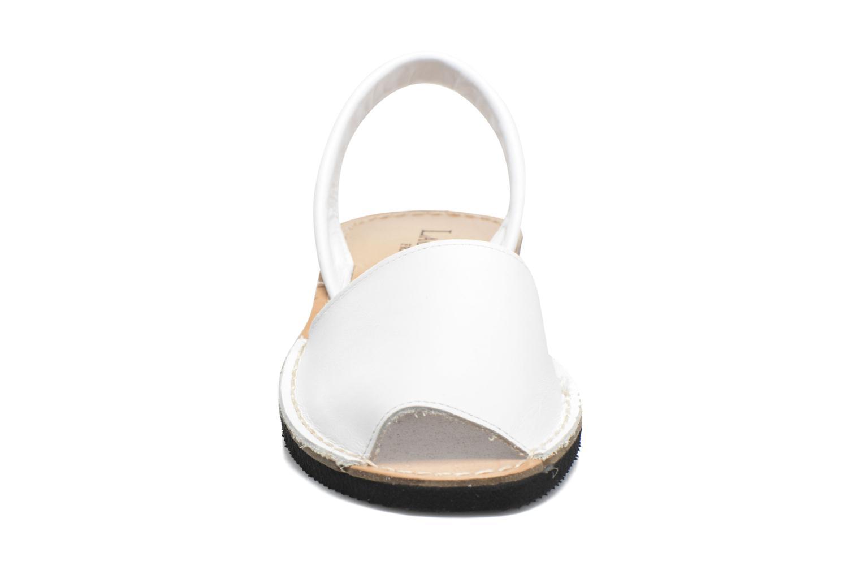 Sandales et nu-pieds Laura Vita Soft Blanc vue portées chaussures