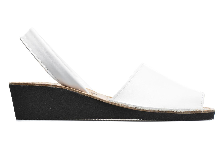 Sandales et nu-pieds Laura Vita Soft Blanc vue derrière