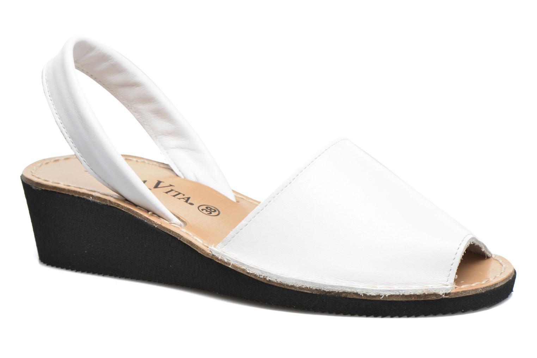 Sandales et nu-pieds Laura Vita Soft Blanc vue détail/paire