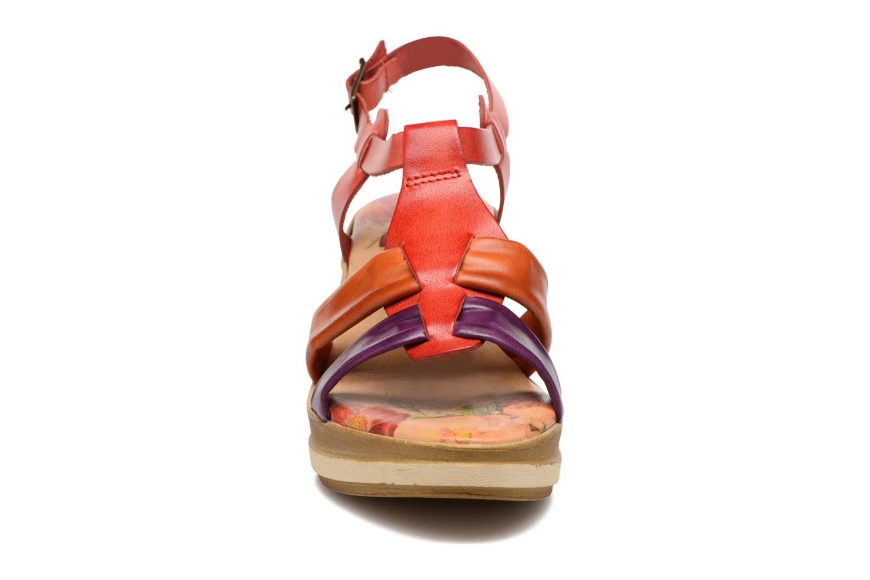 Sandales et nu-pieds Laura Vita Socio Multicolore vue portées chaussures
