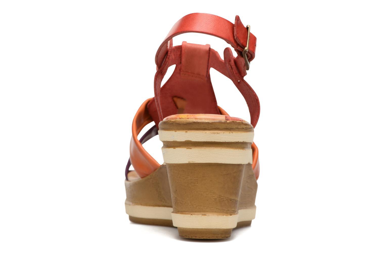 Sandales et nu-pieds Laura Vita Socio Multicolore vue droite