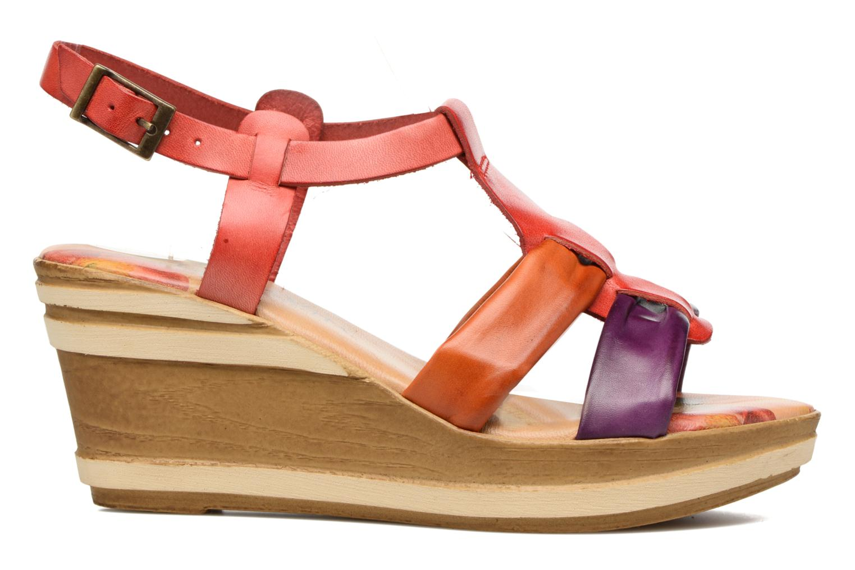 Sandales et nu-pieds Laura Vita Socio Multicolore vue derrière