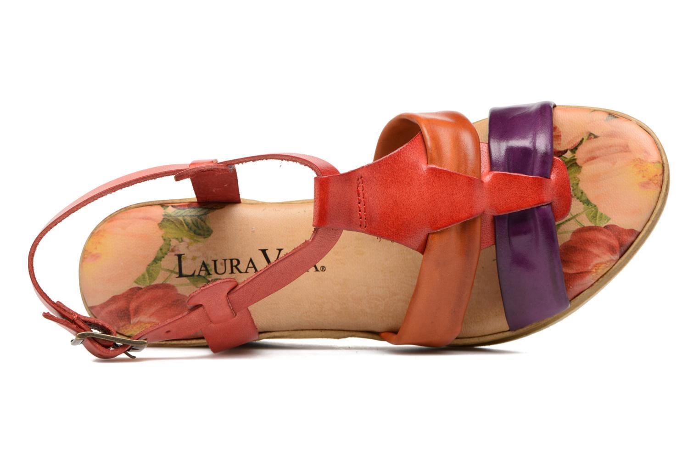 Sandales et nu-pieds Laura Vita Socio Multicolore vue gauche
