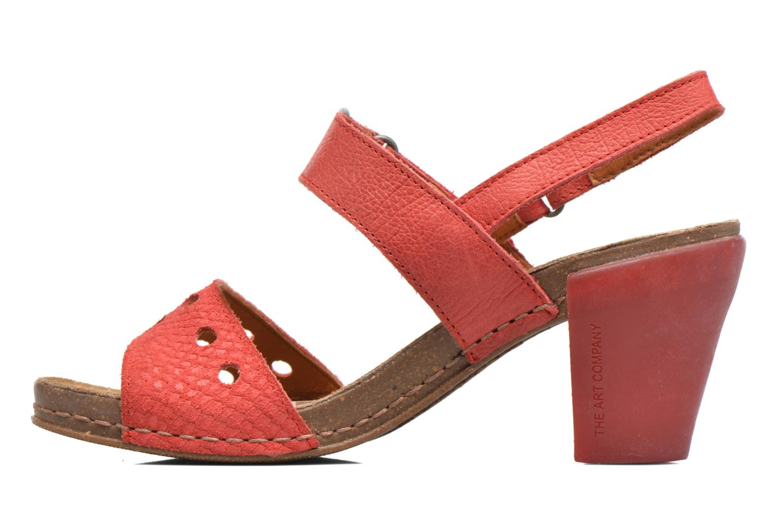Sandales et nu-pieds Art I Feel 228 Rouge vue face