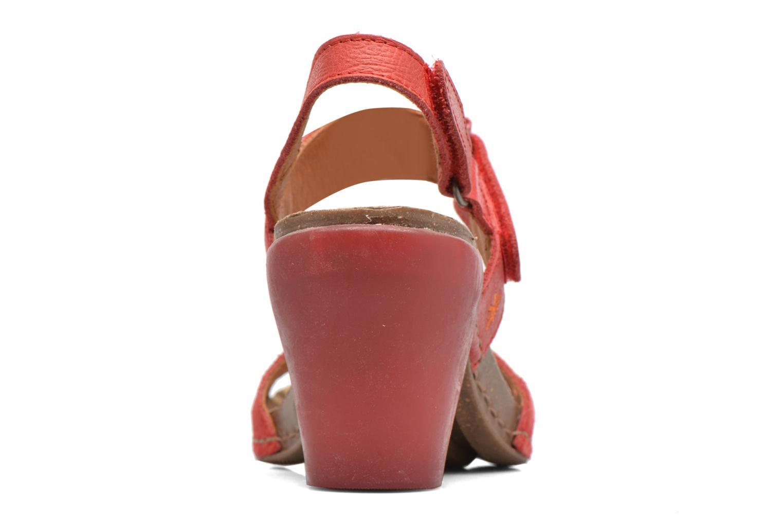 Sandales et nu-pieds Art I Feel 228 Rouge vue droite
