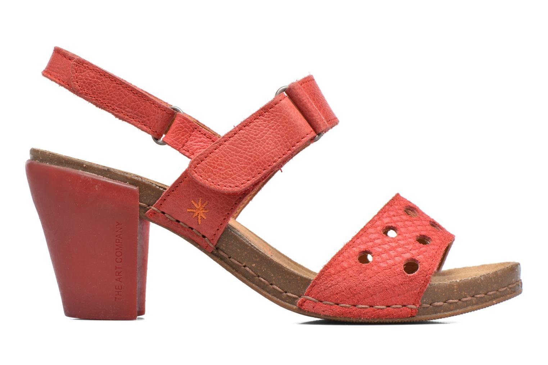 Sandales et nu-pieds Art I Feel 228 Rouge vue derrière