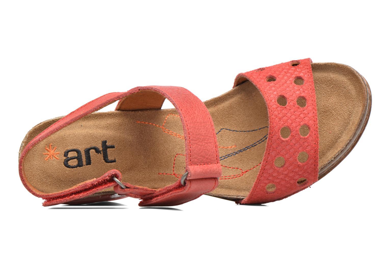 Sandales et nu-pieds Art I Feel 228 Rouge vue gauche