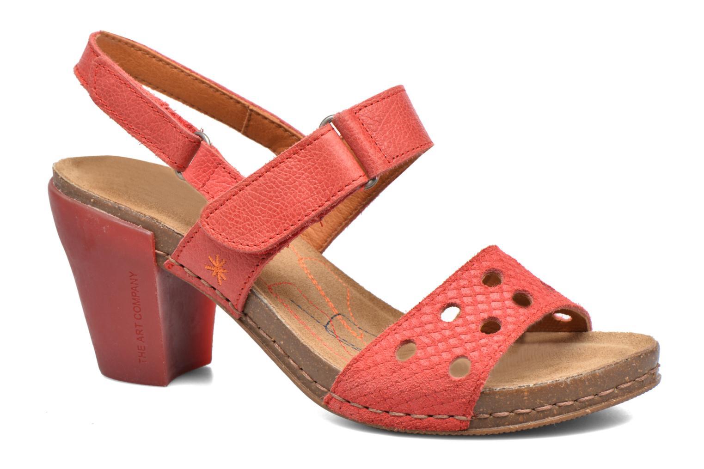 Sandales et nu-pieds Art I Feel 228 Rouge vue détail/paire